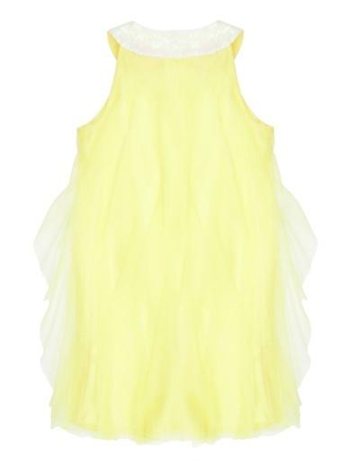 Barbie Elbise Sarı